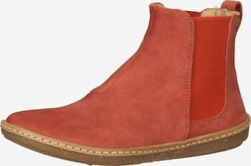 EL NATURALISTA Chelsea Boots in Orange
