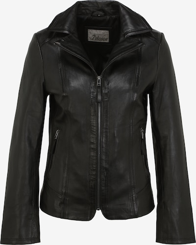 7ELEVEN Lederjacke 'MARIANNE' in schwarz, Produktansicht