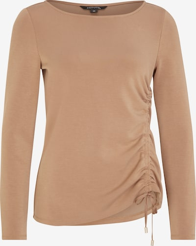COMMA Shirt in camel, Produktansicht
