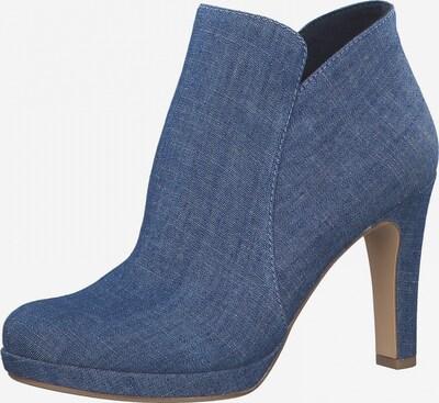 TAMARIS Ankle Boots in blue denim, Produktansicht