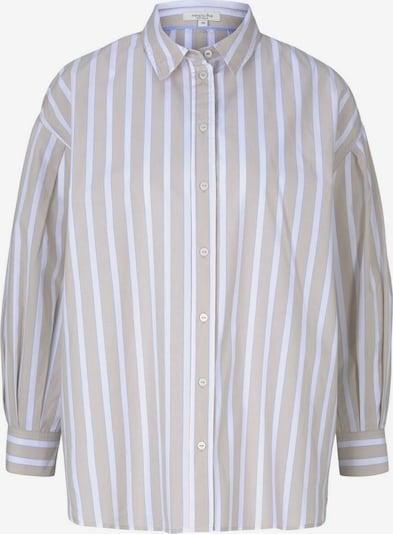 MINE TO FIVE Μπλούζα σε γαλάζιο / καφέ / λευκό, Άποψη προϊόντος