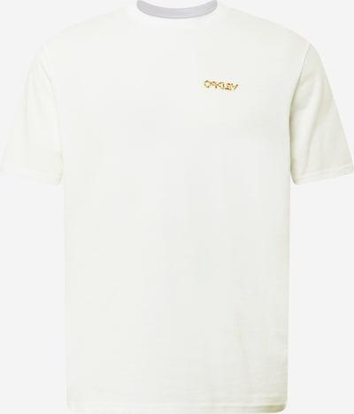 OAKLEY Sportshirt in beige / goldgelb / weiß, Produktansicht