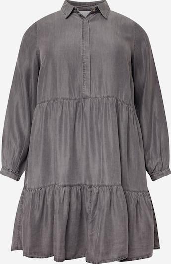 Rochie tip bluză Vila Curve pe gri denim, Vizualizare produs