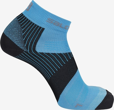 SALOMON Laufsocken 'Piz Bernina' in blau, Produktansicht
