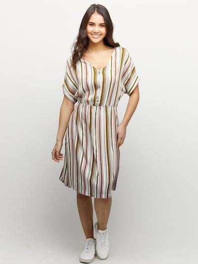 mazine Dress ' Marial ' in khaki, Modelansicht
