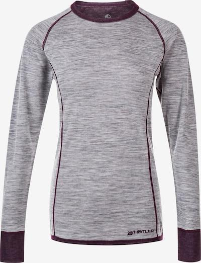 Whistler Ski- und Sportunterhemd 'BRANDI' in grau / lila, Produktansicht