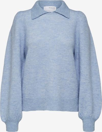 SELECTED FEMME Trui 'Sia-Louisa' in de kleur Smoky blue, Productweergave