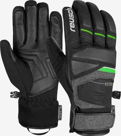 REUSCH Fingerhandschuh 'Storm R-TEX® XT' in neongrün / schwarz, Produktansicht