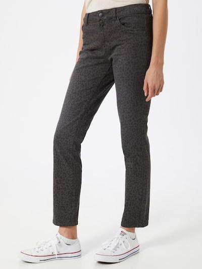 TOM TAILOR Jeans 'Alexa' in de kleur Grijs / Zwart, Modelweergave