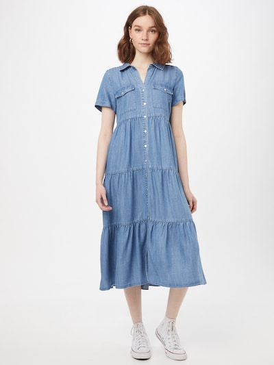 Rochie tip bluză 'Donna' Forever New pe albastru denim, Vizualizare model