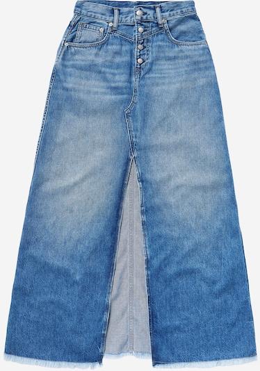 Gonna Pepe Jeans di colore blu denim, Visualizzazione prodotti
