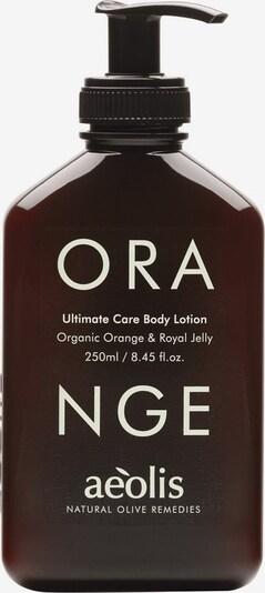 aeolis Bodylotion 'Orange Ultimate Care' in weiß, Produktansicht