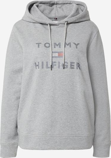 TOMMY HILFIGER Sweatshirt 'Tiara' in navy / graumeliert / rot / weiß, Produktansicht