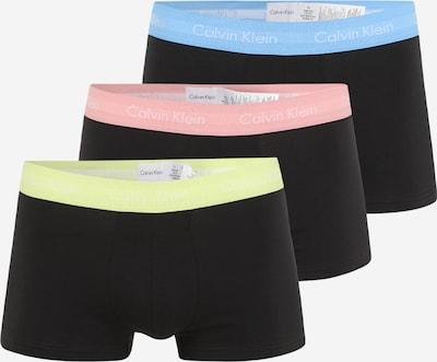 Calvin Klein Underwear Boxershorts in hellblau / hellgelb / hellpink / schwarz / weiß, Produktansicht