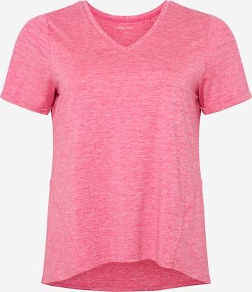 rozā Esprit Sport Curvy Sporta krekls