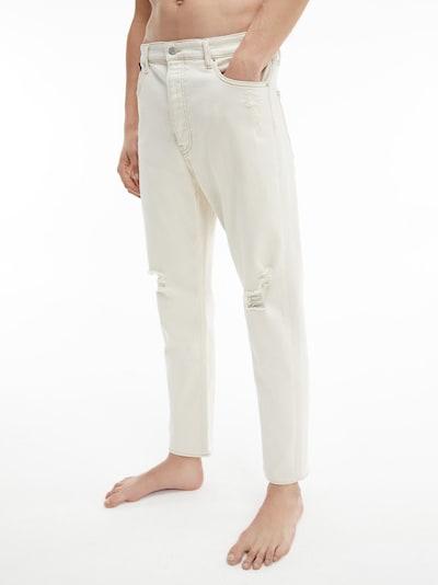 Calvin Klein Jeans Jeans 'Dad' in de kleur Crème, Modelweergave