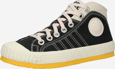 DIESEL Sneaker 'YUK' in schwarz / weiß, Produktansicht