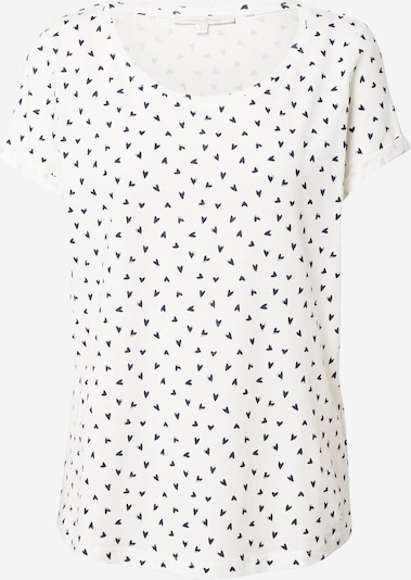 TOM TAILOR DENIM Tričko - námořnická modř / bílá, Produkt