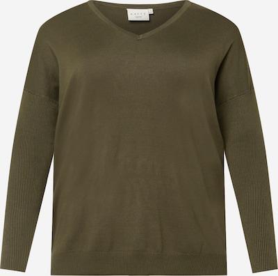 KAFFE CURVE Sweater 'Machi' in Olive, Item view