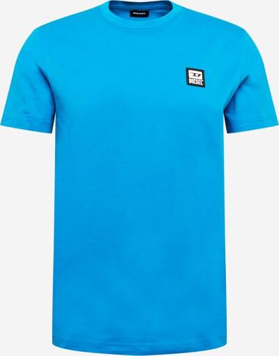 DIESEL Тениска 'DIEGOS' в небесносиньо: Изглед отпред
