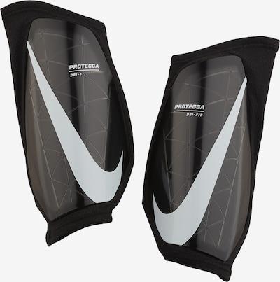 NIKE Schienbeinschoner in grau / schwarz / weiß, Produktansicht