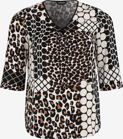 seeyou Shirtbluse 'mit Allover Print' in mischfarben, Produktansicht