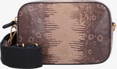 Coccinelle Crossbody Bag 'Tebe Tejus' in Beige / Brown / Black, Item view