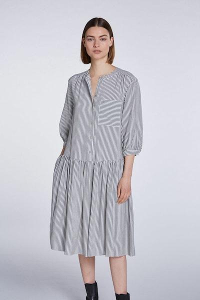 SET Kleid in schwarz / weiß: Frontalansicht