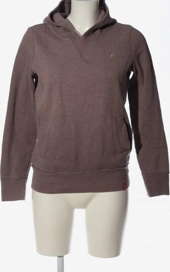 EDC BY ESPRIT Kapuzensweatshirt in S in braun, Produktansicht