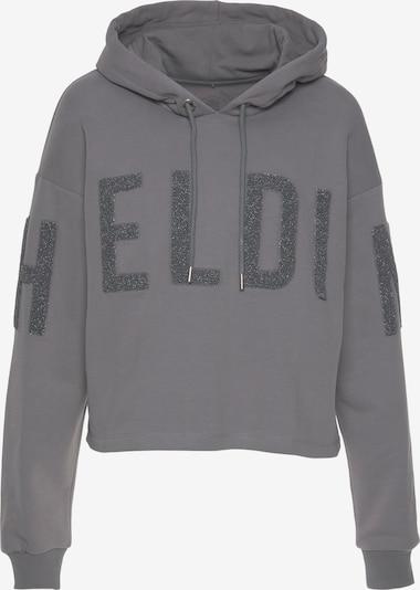 Herrlicher Sweatshirt in grau, Produktansicht