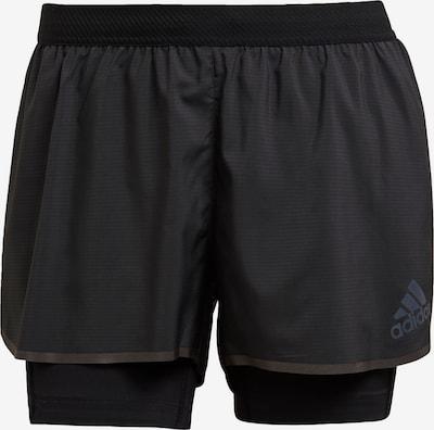 ADIDAS PERFORMANCE Sporta bikses 'Adizero', krāsa - melns, Preces skats