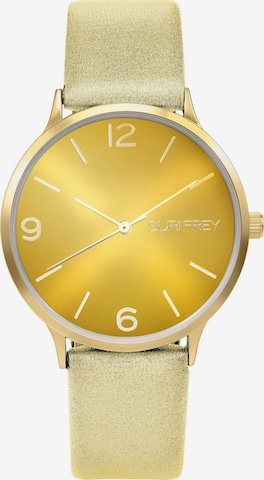 Montre à affichage analogique 'Roxy' Suri Frey en jaune