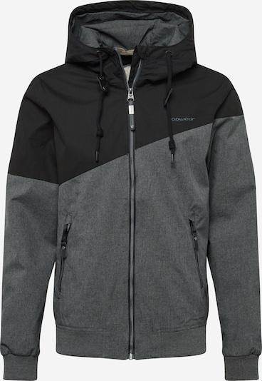 Ragwear Overgangsjakke 'WINGS' i grå / sort, Produktvisning