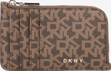 DKNY Portemonnaie in Braun