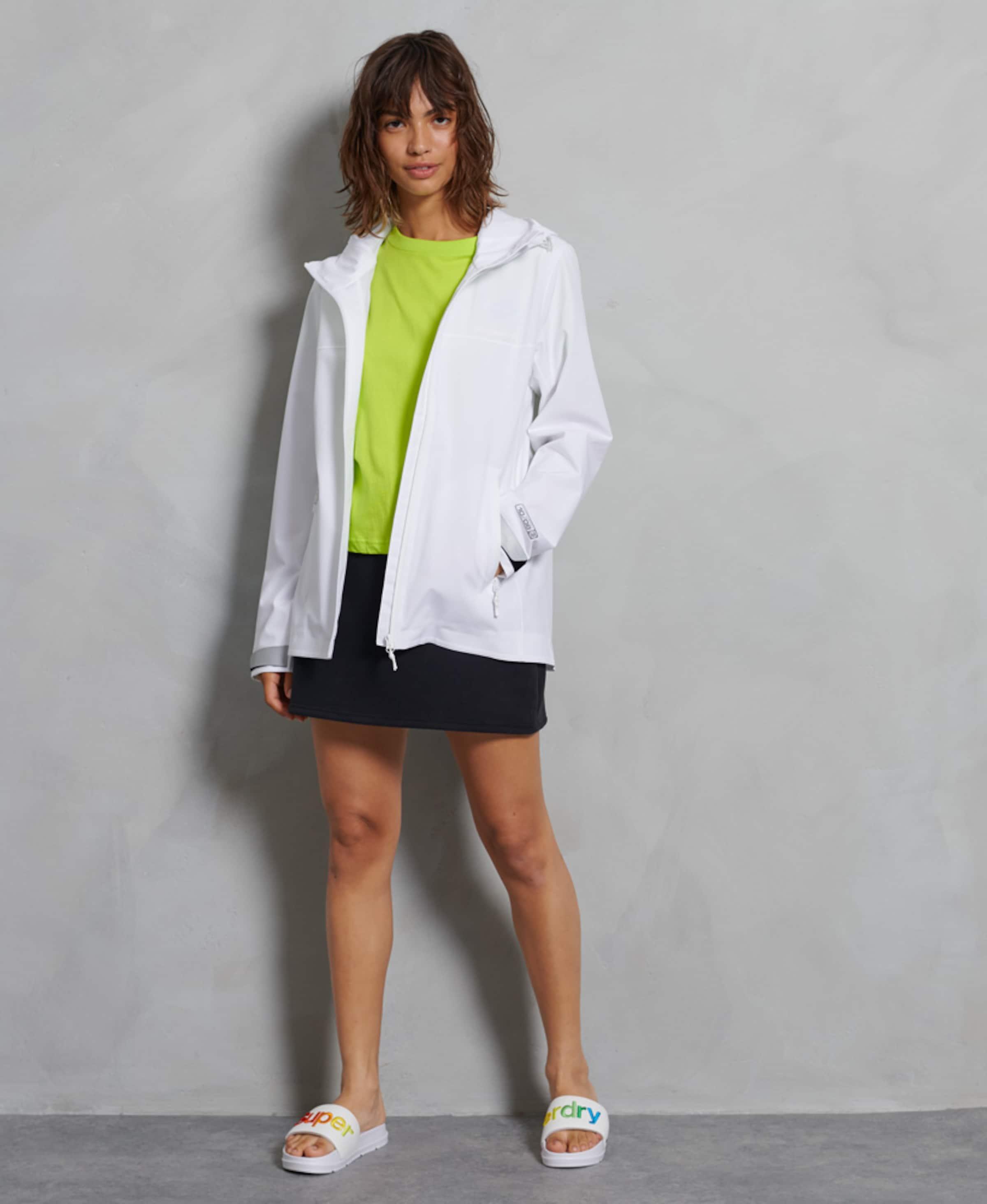 Superdry Jacke in weiß