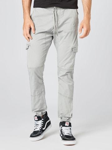 Pantaloni cargo 'Levy' di INDICODE JEANS in grigio