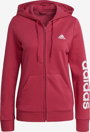 ADIDAS PERFORMANCE Sportsweatjacke in pink / weiß, Produktansicht