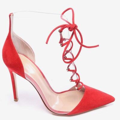 Gianvito Rossi Stiefeletten in 37,5 in rot, Produktansicht
