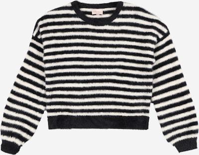 KIDS ONLY Pullover 'Piumo' en schwarz / weiß, Vue avec produit
