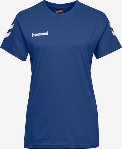 Hummel Functioneel shirt in de kleur Hemelsblauw / Wit, Productweergave