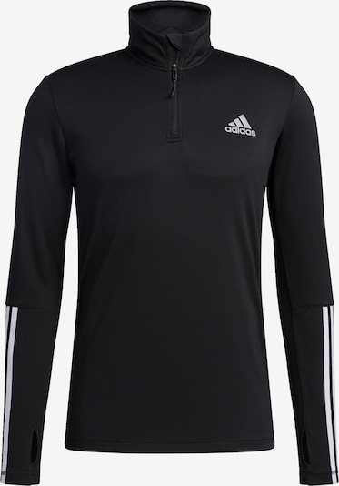ADIDAS PERFORMANCE Sweatshirt 'Intuitive Warmth' in schwarz / weiß, Produktansicht