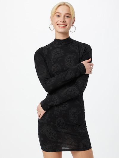 Motel Šaty 'QUELIN' - šedá / černá, Model/ka