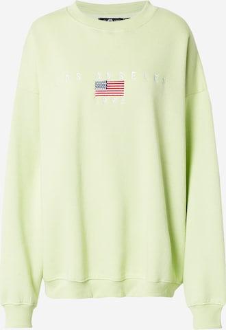 Sweat-shirt Daisy Street en vert