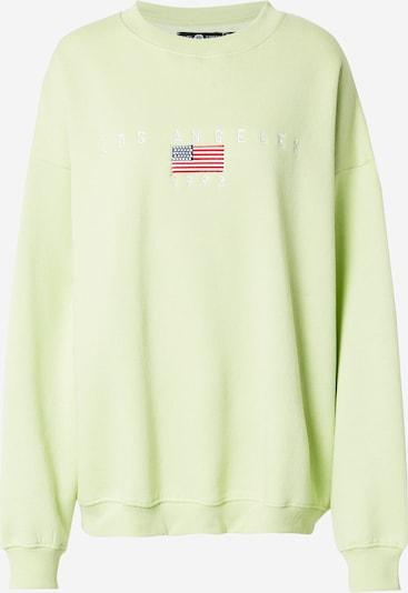 Daisy Street Sweatshirt in Blue / Light green / Red / White, Item view