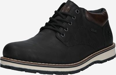 RIEKER Cipele na vezanje u smeđa / crna, Pregled proizvoda