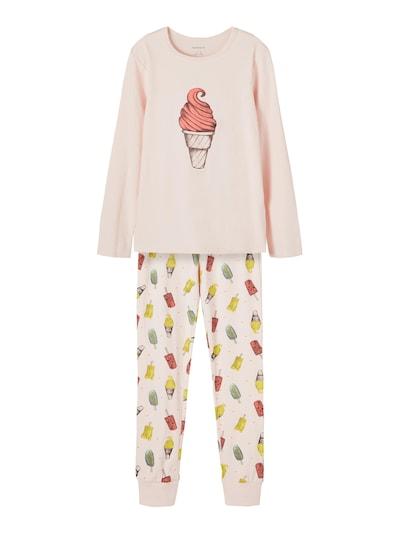 NAME IT Schlafanzug 'NKFNIGHTSET POTPOURRI ICE AOP NOOS' in mischfarben / pink, Produktansicht