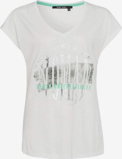 MARC AUREL T-Shirt in grün / silber / offwhite, Produktansicht