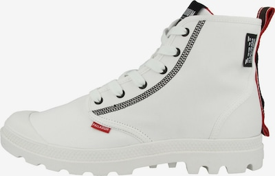 Palladium Boots ' Pampa Dare 2 Survive ' in weiß, Produktansicht