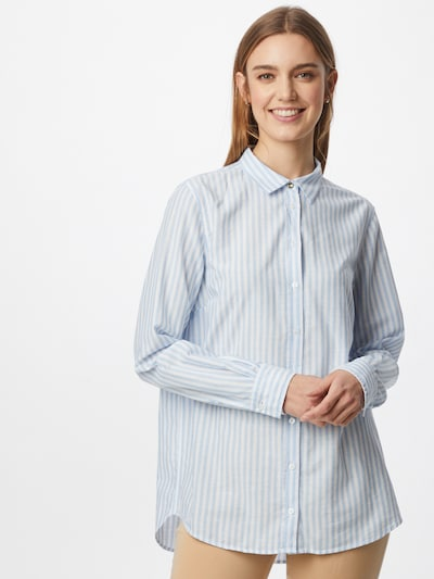 MOS MOSH Blouse 'Karli' in Light blue / White, View model