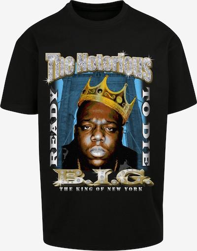 Tricou 'Biggie Crown' Mister Tee pe chamois / galben auriu / negru / alb, Vizualizare produs
